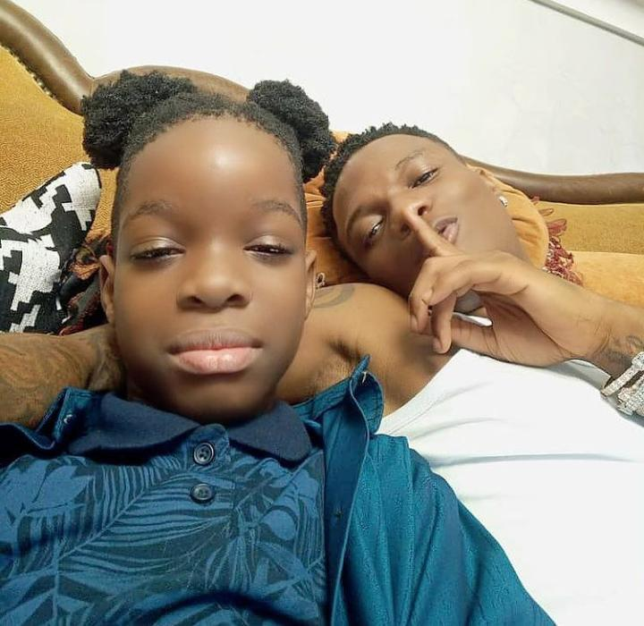 Boluwatife and Wizkid spend time together