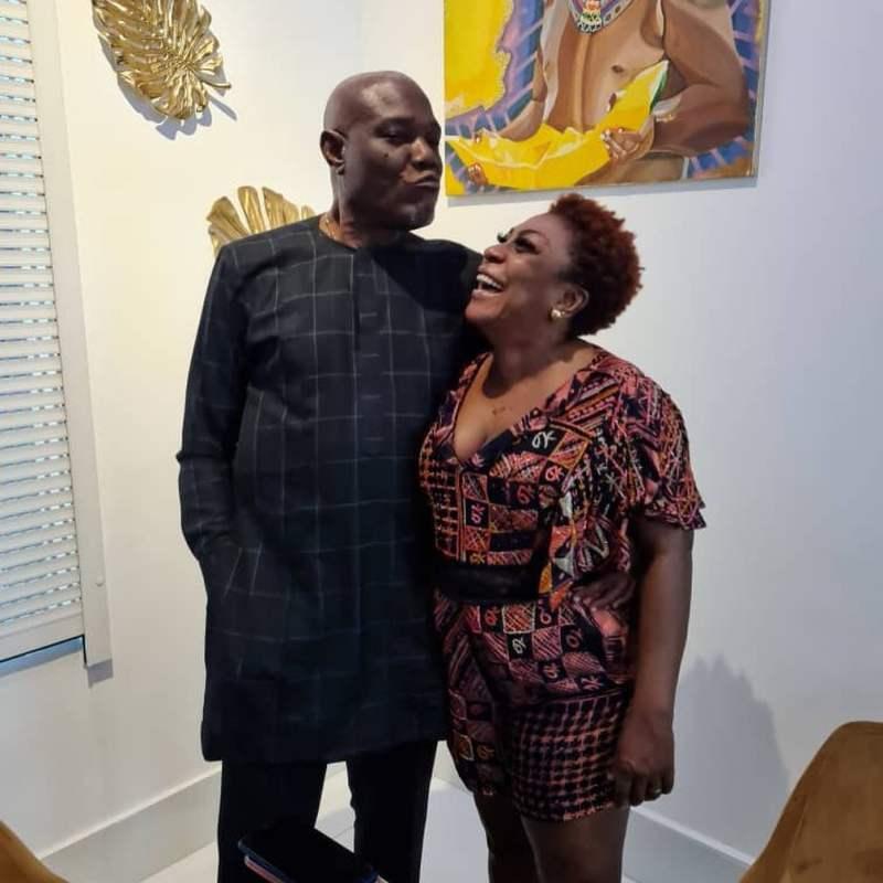 Burna Boy's mother, Bose Ogulu celebrates husband's birthday
