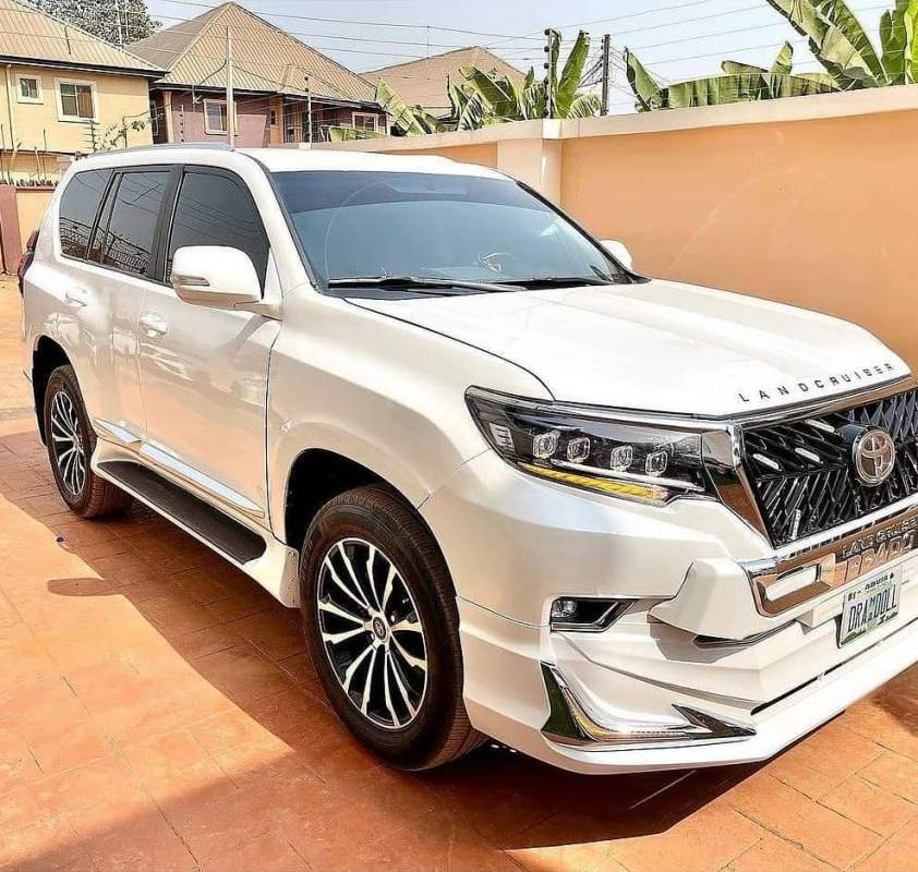 Destiny Etiko acquires brand new SUV car with customized plate 'Drama Doll'