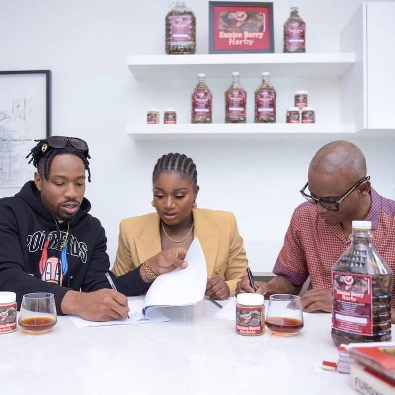 ike onyema signing endorsement deal