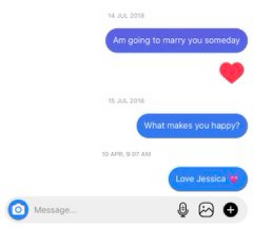 A Twitter user, Jessica Levi has shared chats of herself from 2018 shooting her shots at international footballer, Alex Iwobi.