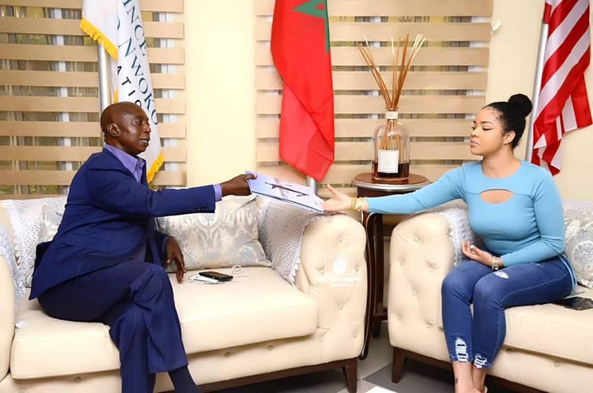 Nengi pays courtesy visit to Ned Nwoko, endorses malaria project (Video)