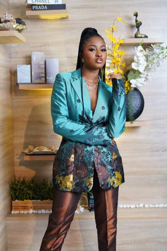 Kim Oprah Headies awards outfit