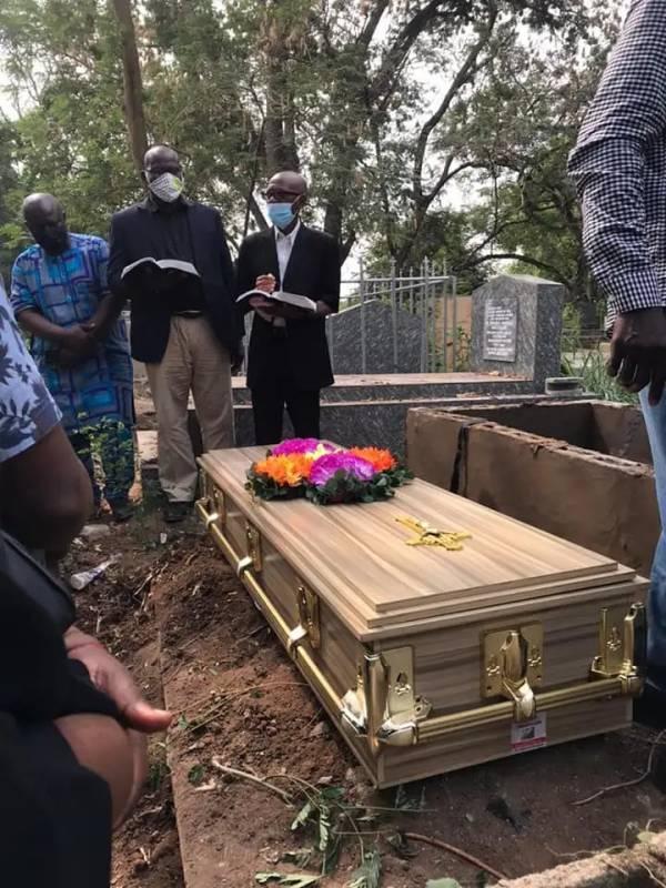 yinka davies son dead and buried