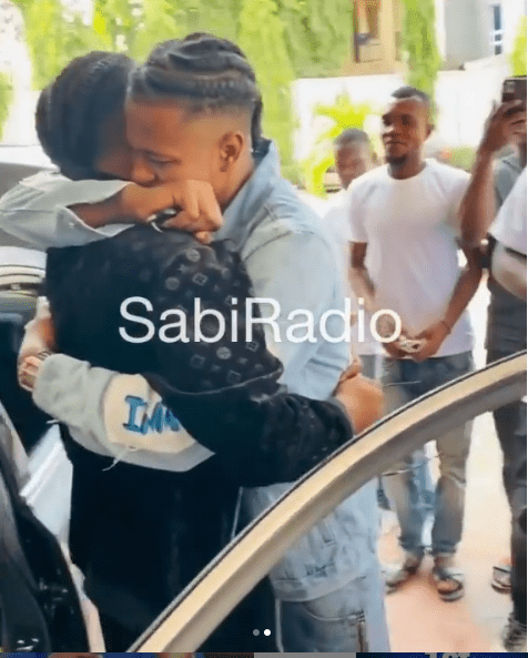 Man sheds tears as best friend gifts him a car on his birthday