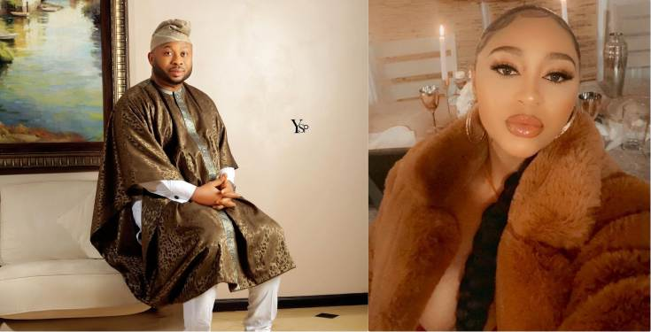 Tonto Dikeh's ex-husband, Churchill introduces actress Rosy Meurer as his wife on her birthday