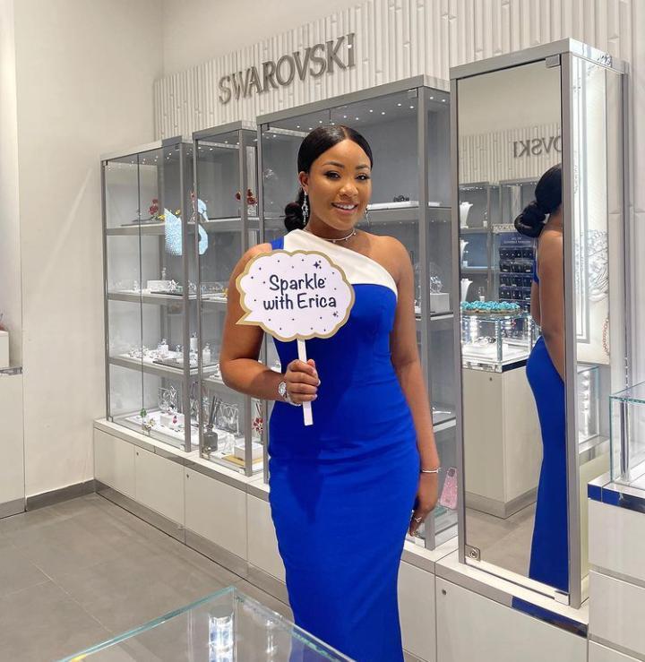 Erica luxury brand Swarovski