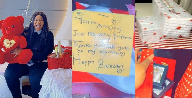 Image result for Nkechi Blessing Receives Loads Of Gifts Ahead Of Birthday Tomorrow