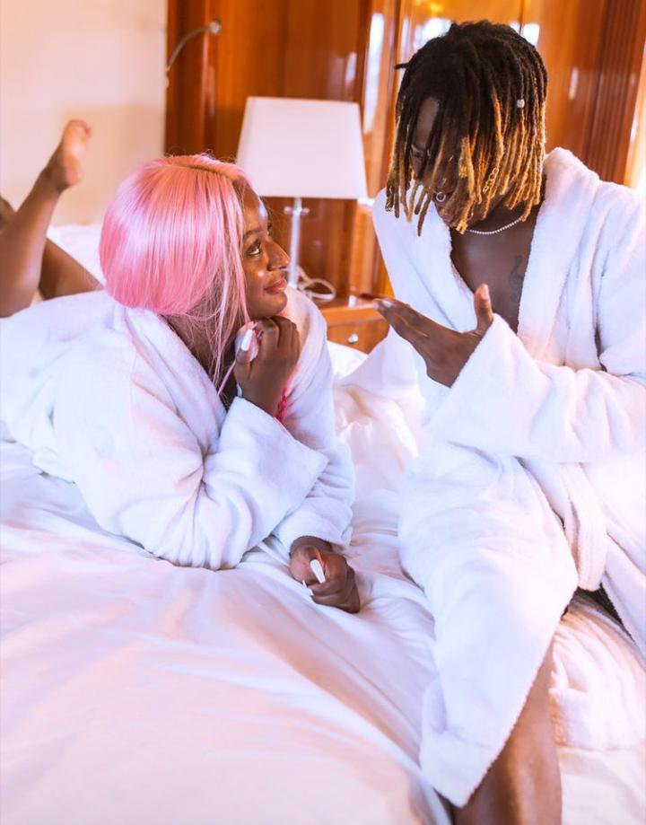 DJ Cuppy loved up with Fireboy