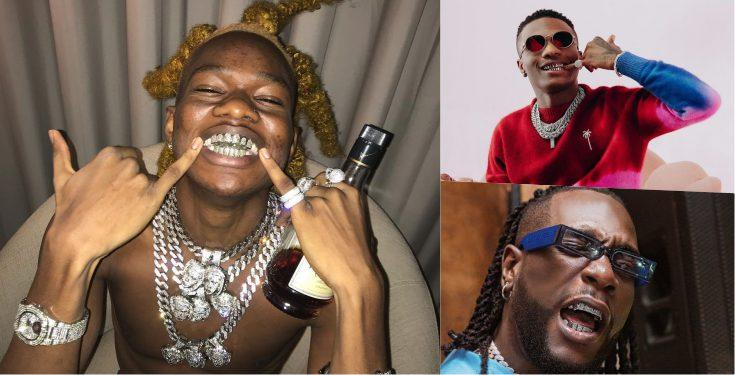 Man drags Wizkid, Burna Boy for flaunting gold teeth, says he had his since 15 (Video)