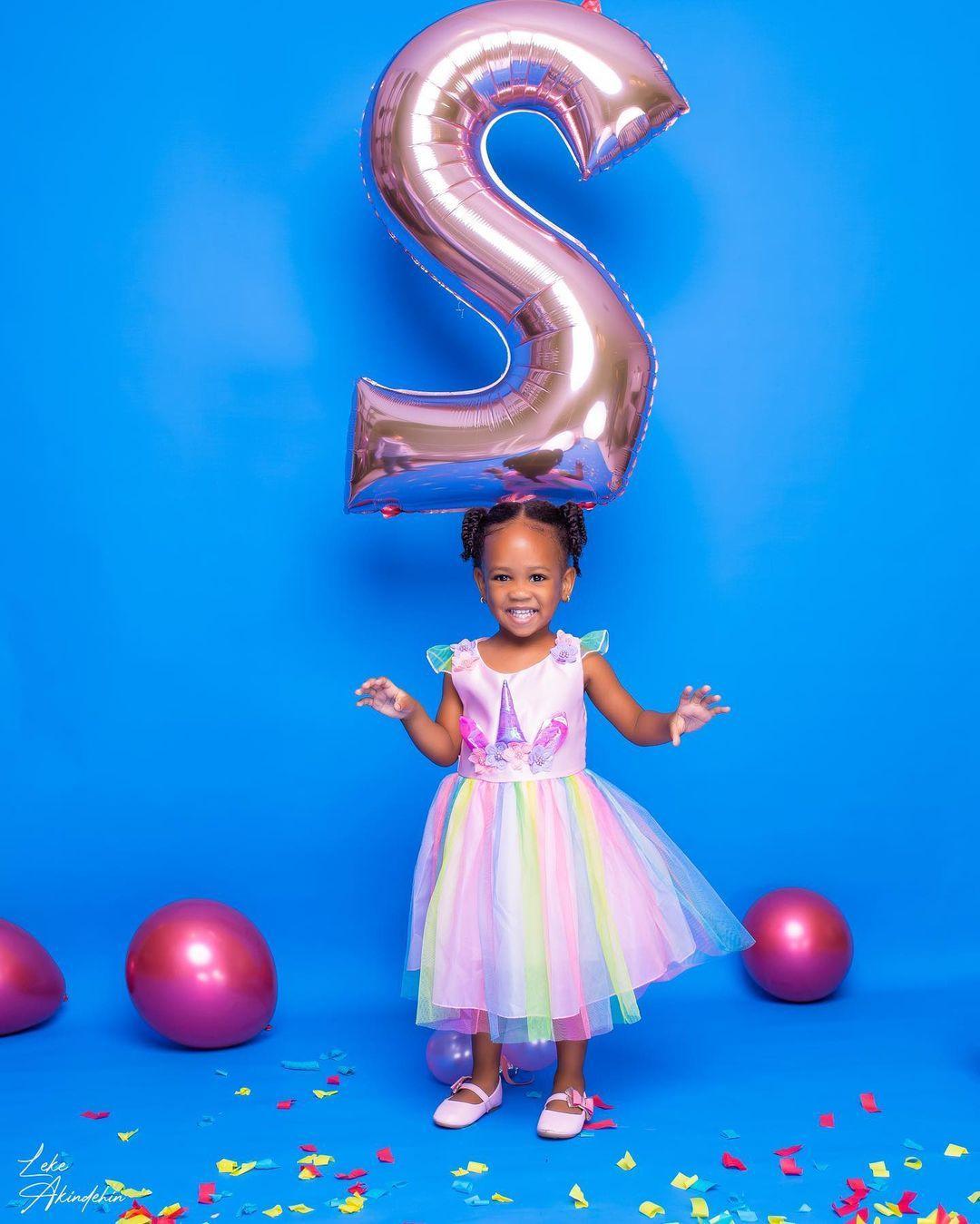 Tania daughter birthday Wizkid