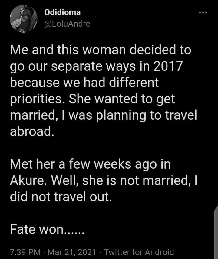 man fate relationship splitting
