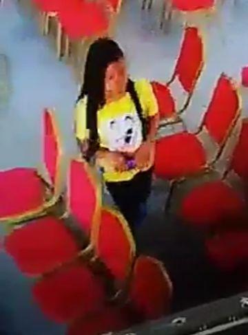 stealing phone church lady