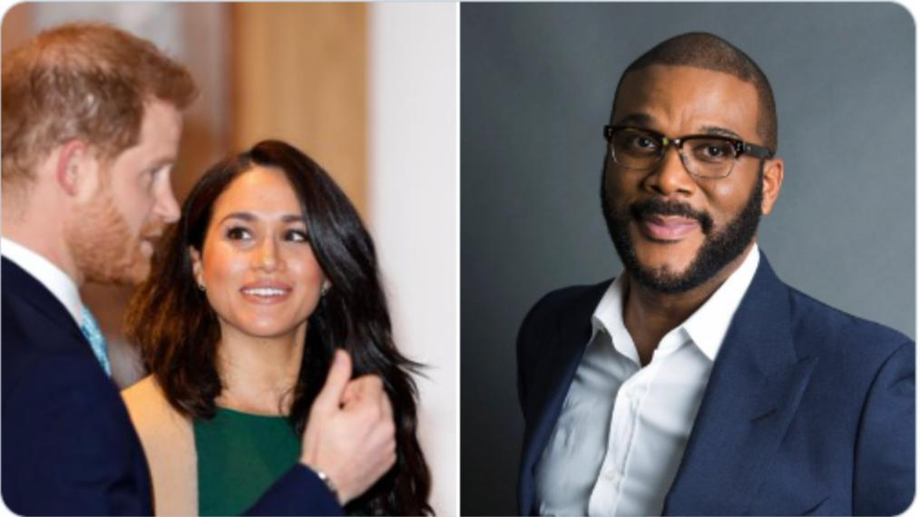 Tyler Perry came to Meghan Markle and Prince Harry's aid