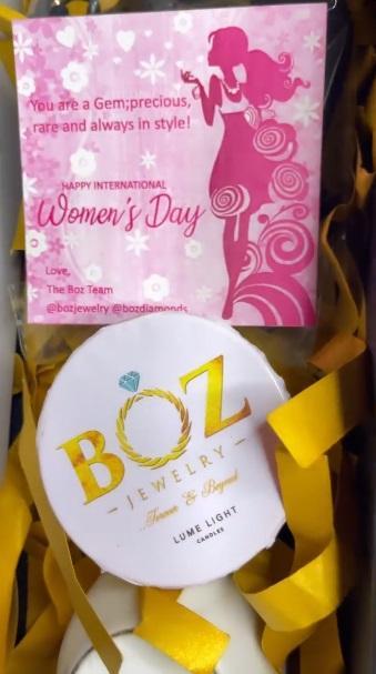 Nengi gets diamond jewelry, other gifts from fan on International Women's Day (Video)