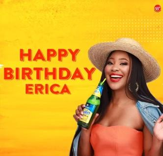 Star Radler celebrates Erica as she marks 27th birthday today (Video)
