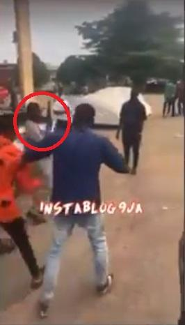 UNIBEN students rebel against lecturer who brought a gun to exam hall (Video)