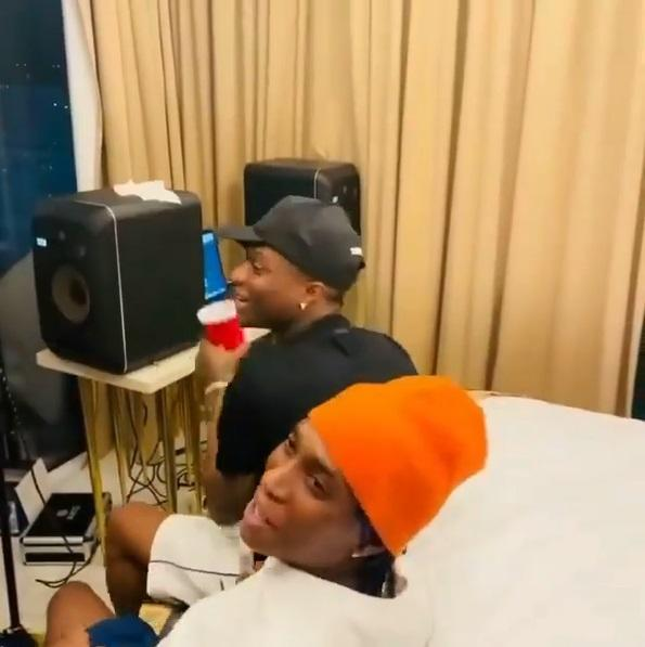 'E don spoil' trends hours after video of Bella Shmurda and Wizkid in studio surfaced online