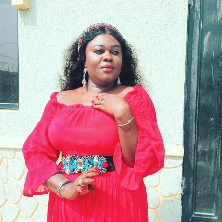 Actress Blessing Ebigieson