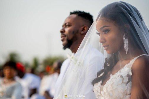 """Let them enjoy their marriage in peace"" - Netizens react to Adekunle Gold's cheating saga"