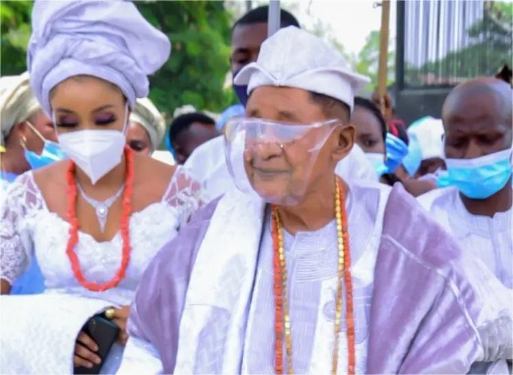Alaafin Oyo Chioma Wife