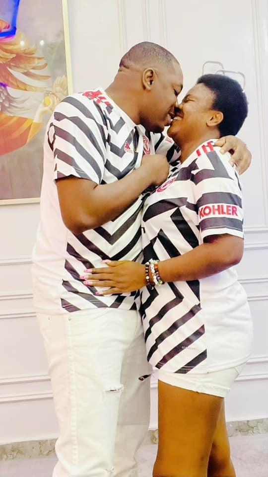 Angela Nwosu celebrates her husband as she marks their 1st 'meeting'