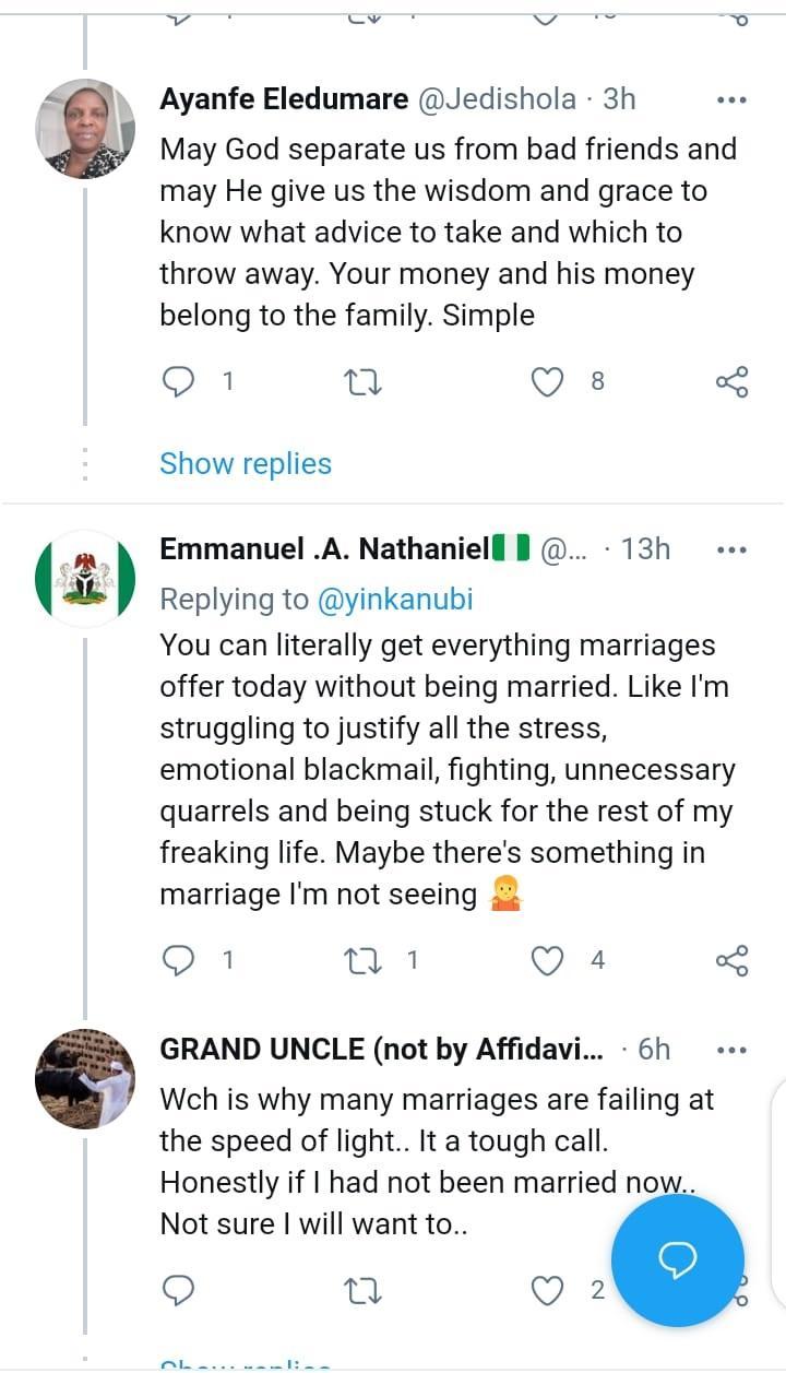 marriage money yinka ogunnubi