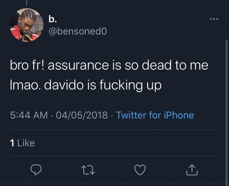 Davido Stylist Critic Songs