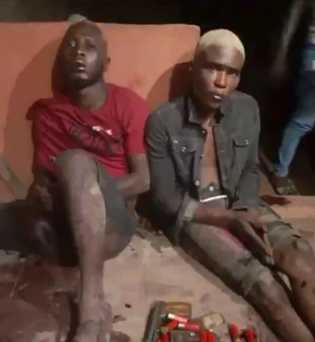 Social media big boys apprehended by police during robbery operation
