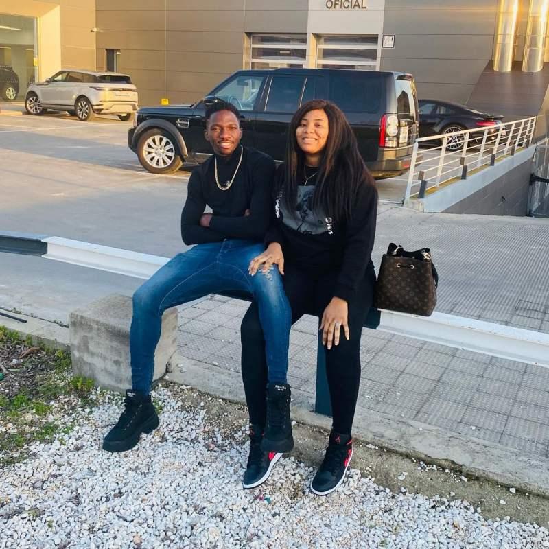Footballer, Kenneth Omeruo wife