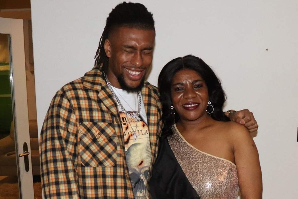 Alex Iwobi celebrates mother's birthday with adorable family photos
