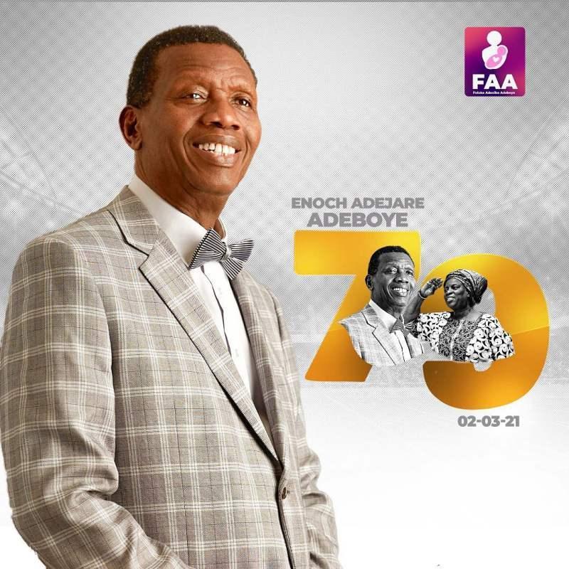 Pastor Folu Adeboye eulogizes husband, Daddy G.O on his 79th birthday
