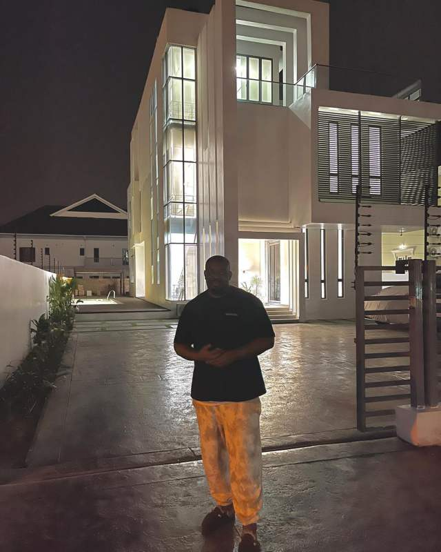 Tacha shoots shot at Don Jazzy, begs to move into his new mansion (Video)