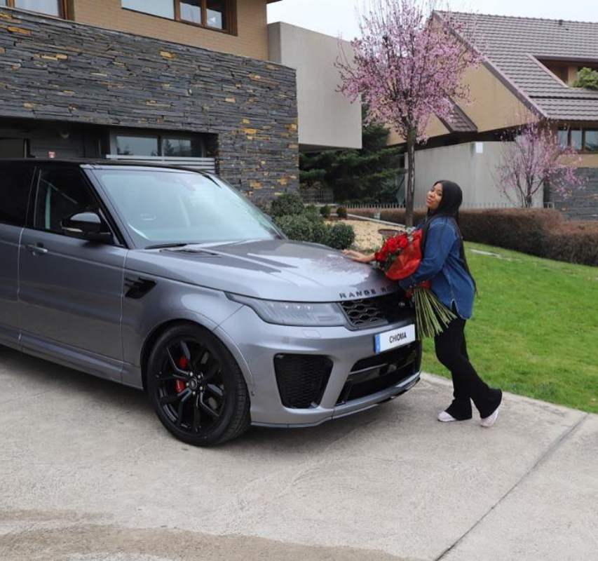 Kenneth Omeruo gifts wife Range Rover as birthday gift (Video)
