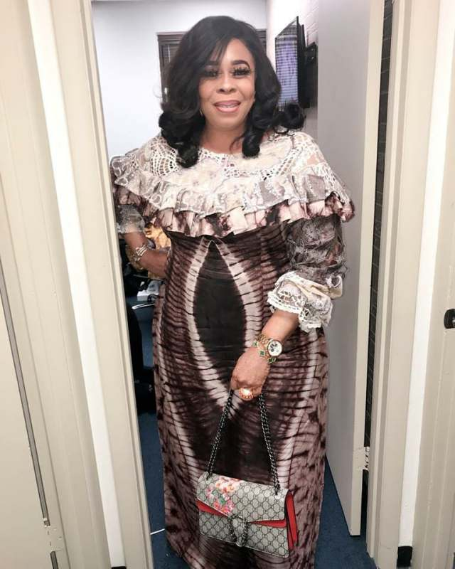 Mayorkun's mother, Toyin Adewale