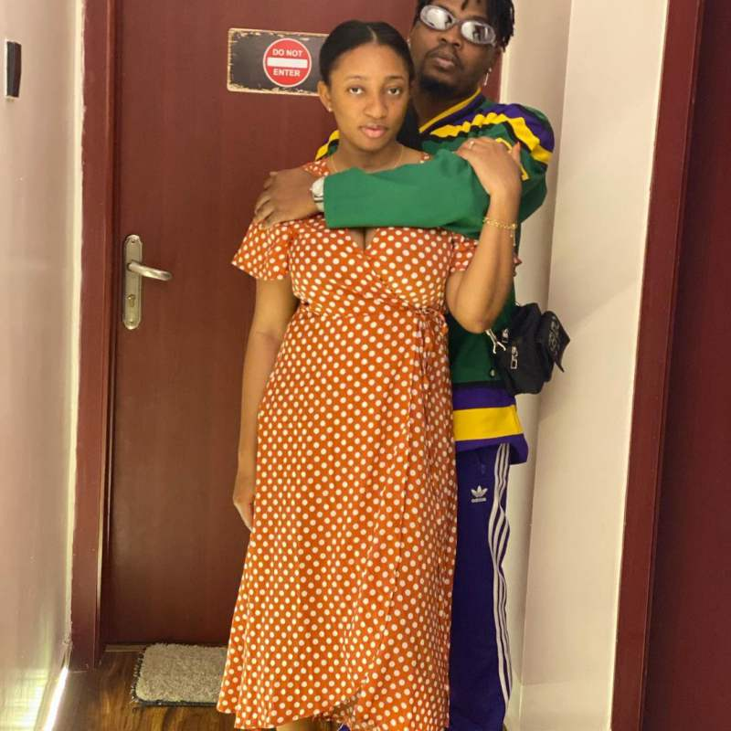 Olamide's fiancée, Adebukunmi celebrates him on his birthday today