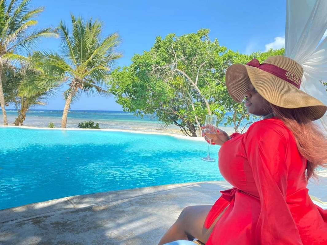 Reality star, Dorathy shares throwback baby girl life of her vacation in Kenya