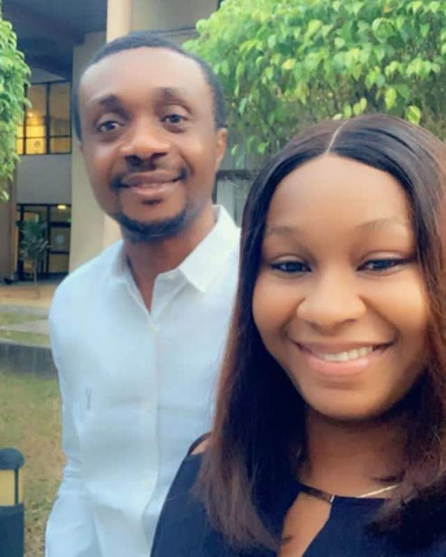 Nathaniel Bassey shares loved up photos with his wife, Sarah
