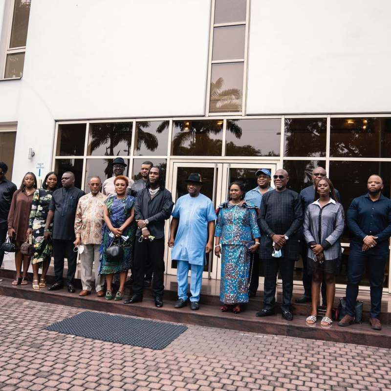 Gov. Wike fulfills promise, gifts N10M each to artistes that performed at Burna Boy's concert