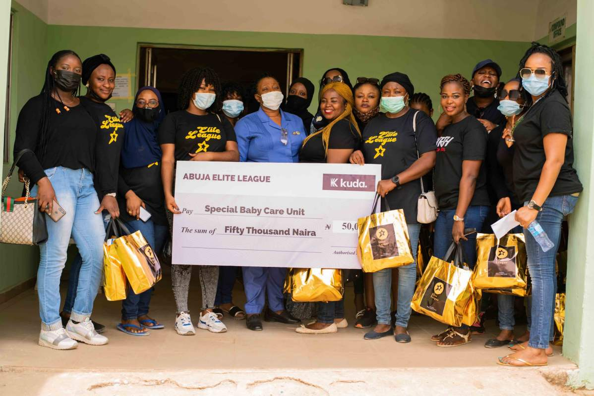 Abuja Elites present hospital with loads of gift in honor of Erica's birthday