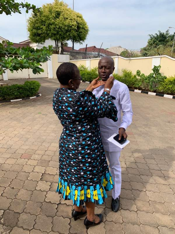 Oby Ezekwesili shares loved up photo to celebrate her husband's 67th birthday