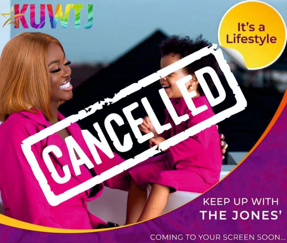 'Keeping Up With The Jones' cancelled