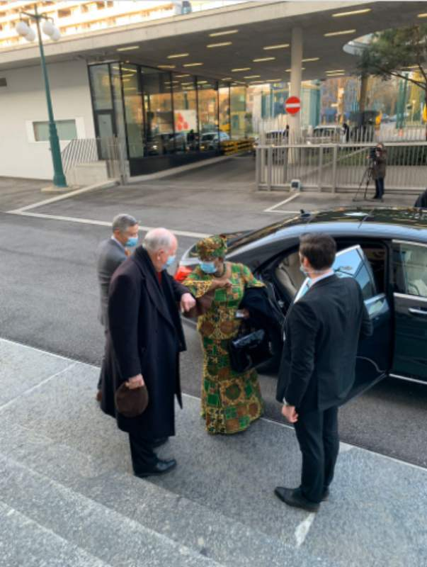 Ngozi Okonjo-Iweala makes first appearance at work as WTO Director-General