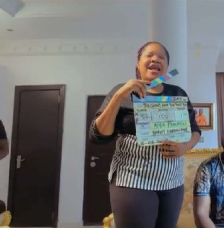 Actress, Toyin Abraham gives testimony after escaping deadly experience on movie set