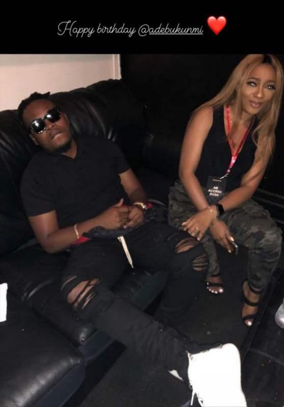 Olamide celebrates his fiancée, Adebukumi on her birthday