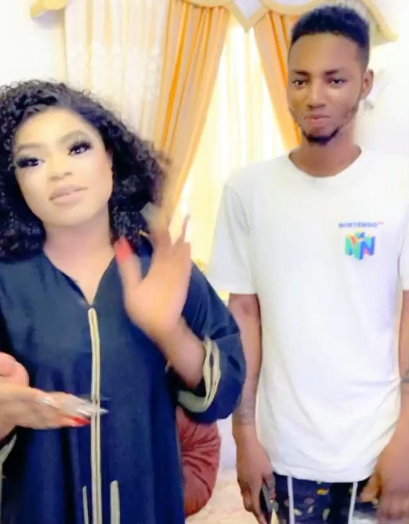 Bobrisky Reward Fans Who Tattooed His Name And Image On Their Body