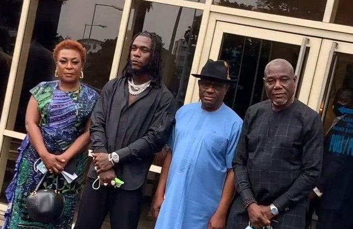 """""""Gov. Wike did no wrong, Burna Boy should have a whole town in his name"""" - Tacha (Video)"""