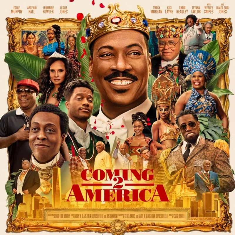 How celebrities dressed to the premiere of 'Coming to America 2' movie (Photos)