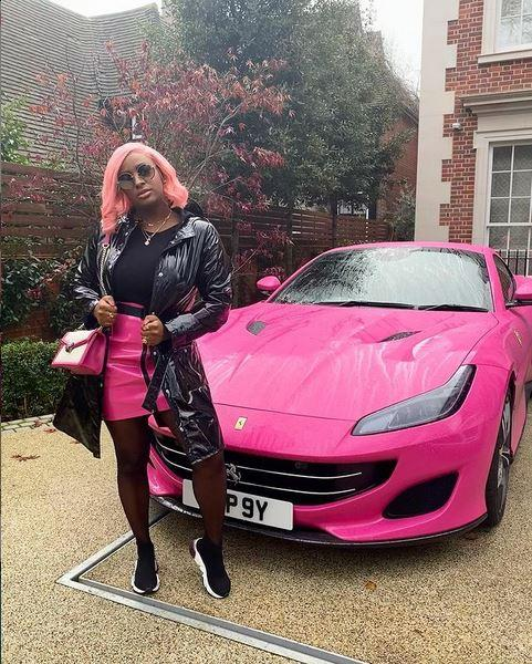 """""""Why would I hop on some beef when I can hop in my Ferrari?"""" - DJ Cuppy"""