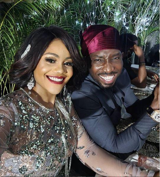 Timi Dakolo Wedding Anniversary Busola